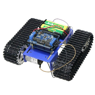T101 WIFI Metal Robot Tank Car Chassis Tracked Kit DC Motor For Arduino