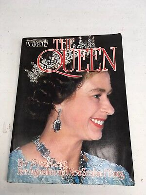 Womens Weekly : The Queen 25 year reign. Australian tour 1977