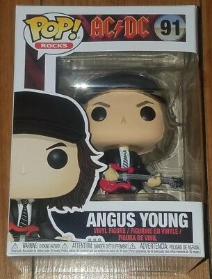Funko Pop Rocks #91 Angus Young ACDC AC/DC In Hand Now