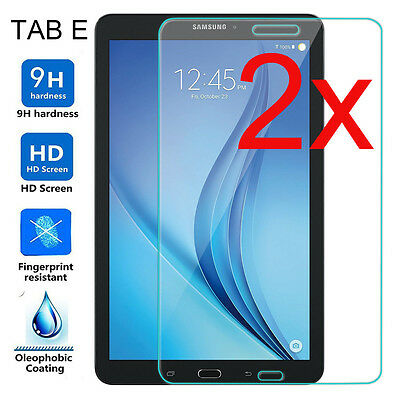 2-pack Tempered Glass for Samsung Galaxy Tab E 8.0 T377 T370 Screen Protector