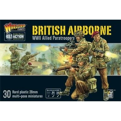 Bolt Action British Airborne WWII Allied Paratroopers