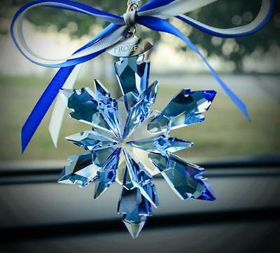 2018 Swarovski Crystal Snowflake large CHRISTMAS ORNAMENT Frozen new sale