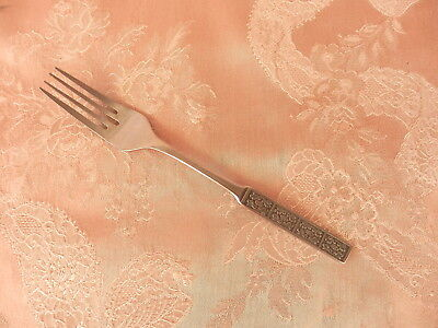 WILTSHIRE  BURGUNDY   Dinner FORK    Stainless Steel     RETRO VINTAGE