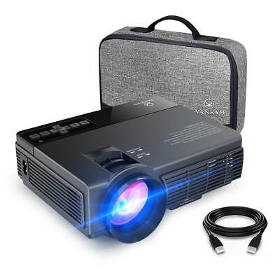 Vankyo Leisure 3 2400 Lux LED HD Portable Projector Upgraded Version - BLACK