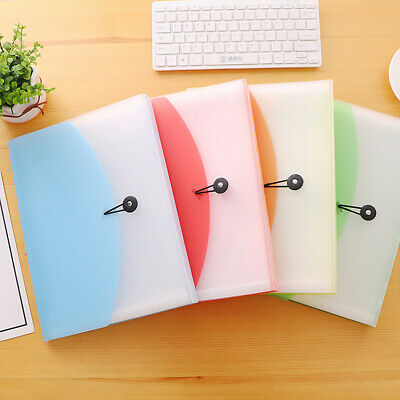 Plastic A4 Office Home School Expanding File 13 Pocket Document Organiser Folder