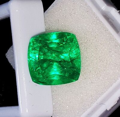 Certified Loose Gemstone 10.27 Ct Natural Emerald