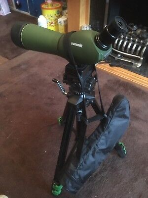 Summit 20-60 X 70 Spotting Scope With Tripod