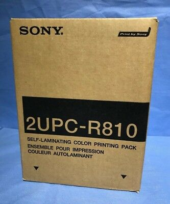 Sony 2Upc-R810 Print Pack Ink & Paper