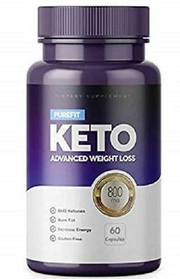 PUREFIT KETO ADVANCED WEIGHT LOSS 60 Capsules - EXTREME WEIGHT LOSE.