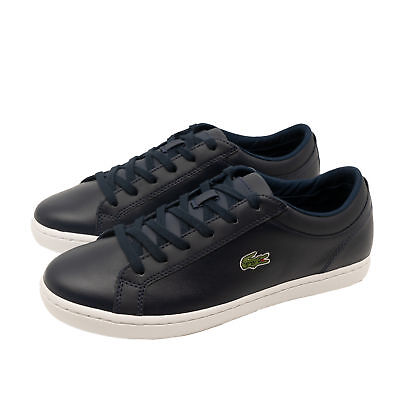 87ac60f2d3f54 Lacoste Straightset BL 1 SPW Women Sneakers Shoes Trainers Navy Dark Blue  4-8