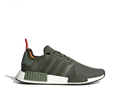 ADIDAS NMD R1 Boost Olive Green Mens Sneakers B37620