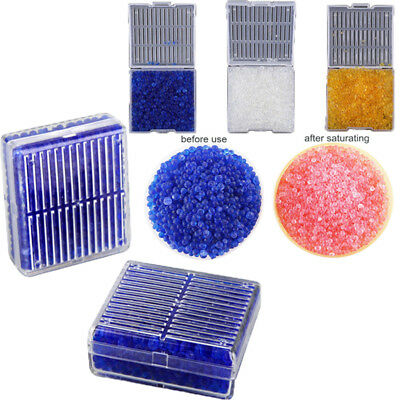 Reusable Non-toxic Silica Gel Box Moisture Absorber Desiccant Dry Color Changing