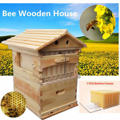 7Pcs Upgraded Auto Flow Honey Hive Beekeeping Beehive Frame Harvesting