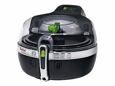 Tefal ActiFry YV9601 2in1 - Fritteuse - 1400 W - Schwarz / Silber