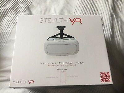 Stealth VR-Virtual Reality Headset - VR200