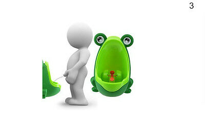 Toilet training Boy Pee Kids Frog Bathroom Baby Potty Urinal Children Toddler TH