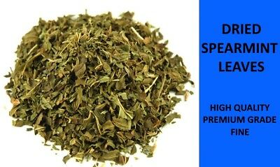 SPEARMINT LEAVES - DRIED -  PREMIUM FINE GRADE - HERBAL TEA - 25g - 1Kg