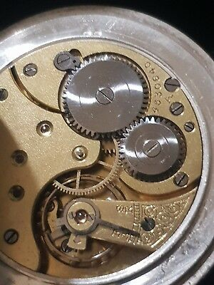 Omega Antique solid silver pocket watch