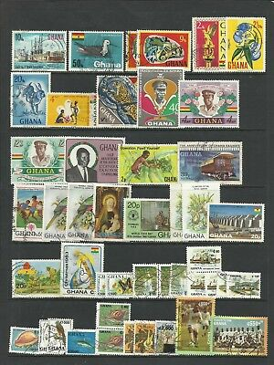 Ghana assorted lot of topicals
