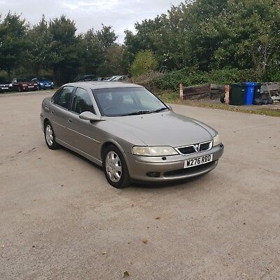 2000 Vauxhall Vectra Cdx V6 2 Owners Only 94K Px To Clear