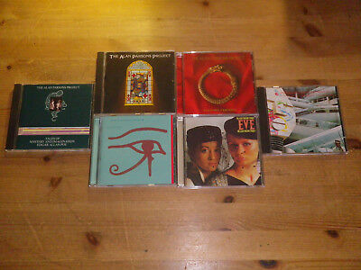 THE ALAN PARSONS PROJECT: Vulture Culture/ I Robot etc., LOT WITH 6 CD`S, TOP!!