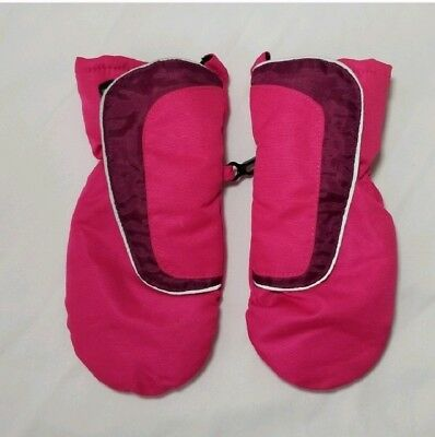 Mittens Baby Girls Target Pink Fur Lined Winter Gloves Size Infant