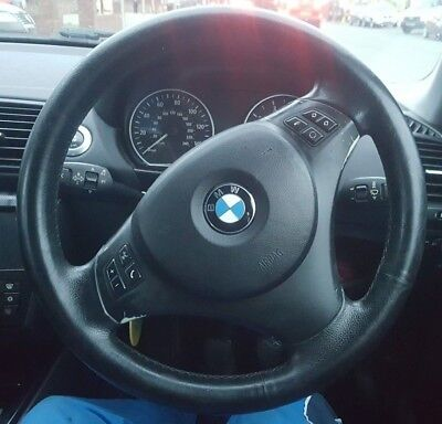 2006 BMW 116i SPORTS STEERING WHEEL WITH MULTIFUNCTION BUTTONS (WITHOUT AIRBAG)