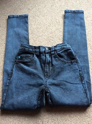 blue next super skinny boys age 8 jeans