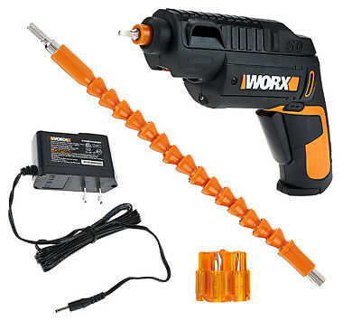 WORX WX254L.6 SD Semi-Automatic Cordless Screw Driver with Extension and Bits