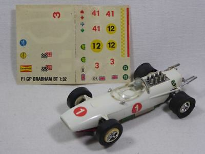 Faller Club Racing Brabham BT3 1:32 in weiss Nr.6678 EXTREME RARE! (F4232)