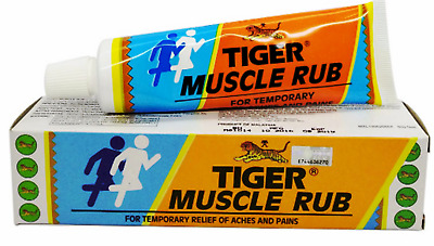 2 X TIGER BALM MUSCLE RUB 60G Relief Of Muscle Aches & Pains