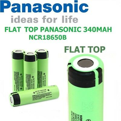 Genuine Panasonic Battery NCR18650B 18650 3400mAh Li-ion 3.7V Rechargeable Vape