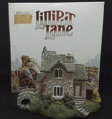 Lilliput Lane Helmere Cottage 1989 English Collection - Box - Signed