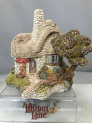 Lilliput Lane Beehive Cottage English Collection - Midlands 1989 Box Deed Book