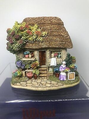Lilliput Lane Say it With Flowers 1998 British Collection - New - Box - Deed