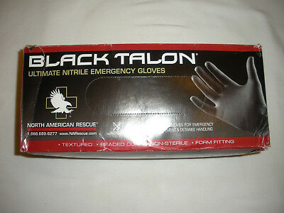 NORTH AMERICAN RESCUE Black Talon Trauma Gloves - XL   (IFAK,TRAUMA,ATLS,TCCC)