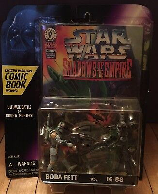 "Star Wars Shadow of the Empire Comic Pack ""Boba Fett vs. IG-88"" - 1996"
