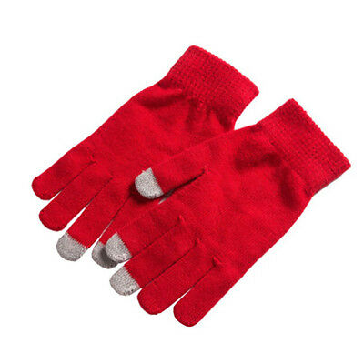 Men Women Winter Gloves For Smart Phone Tablet Full Finger Mittens Keep Warm