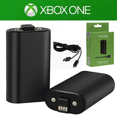 For Xbox One Play and Charge Kit - Rechargeable Battery Pack & Charging Cable