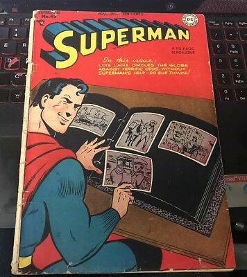 Superman #49 Golden Age 3.0 Not CGC