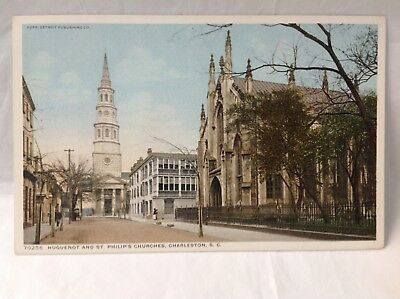 Huguenot&St. Philip's Ch.,Charleston,SC*RequestCombined Shipping BEFORE You Pay*