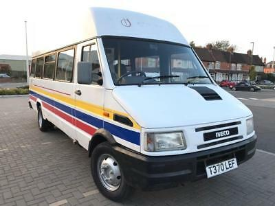 Iveco Turbo Daily 49E10 2.8 Td (1999 T) Extra Lwb 17 Seater Minibus Twin Wheels