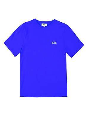 Hugo Boss Boys Royal Blue Short Sleeve T-Shirt