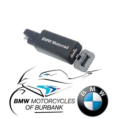 USB Charger Genuine BMW Motorrad Motorcycle