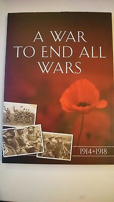 A War To End All Wars Great War Ww1 1914 1918 Commemorative Mint Crown Coin