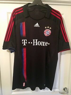Fc Bayern Munich Away Football Shirt 2007-08 Xxl