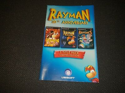 Rayman: 10th Anniversary, Sony Playstation 2 Game Manual, Trusted Ebay Shop