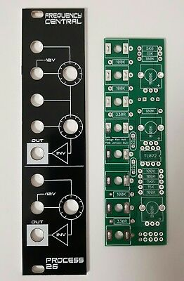 Frequency Central Process 26 PCB/panel - Doepfer DIY - Voltage Processor