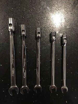 SNAP ON Spanner Set 12 - 17mm  12pt combination spanners