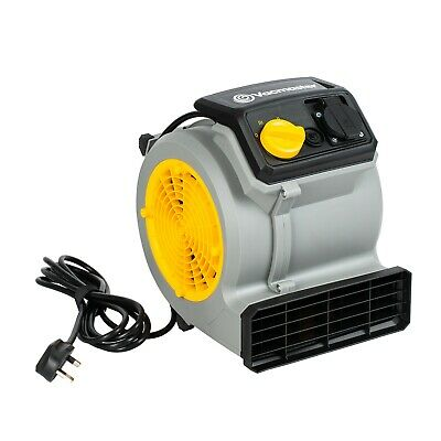 Carpet Dryer Fan / Gym Fan | High Power 3 Speed, Energy Efficient Air Mover